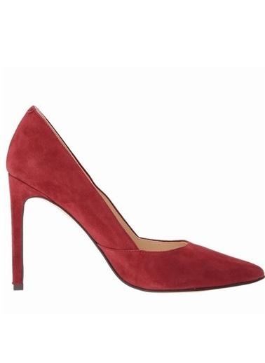 %100 Süet Stiletto Ayakkabı-Nine West